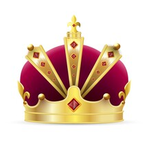 Imperial Crown. Isolated Reali...