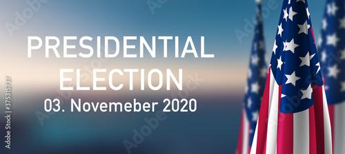 Fototapeta Election 2020 obraz na płótnie