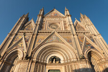 The Facade Of The Cathedral Of...