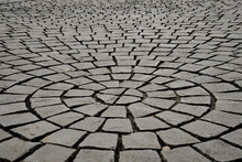 Concentric Circles Of Paving S...
