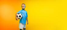 Winner. Young Boy As A Soccer ...