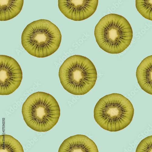 Foto Kiwi, nahtloser Hintergrund