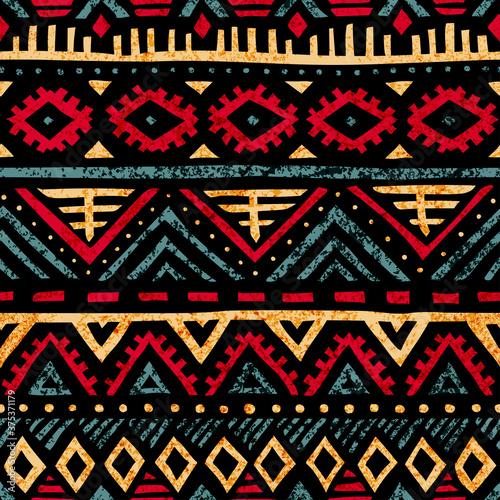 Tapety kolonialne  vintage-wzor-nieczysty-tekstury-motywy-etniczne-i-plemienne-kolory-niebieski-zolty-czerwony-i-fioletowy-ilustracja-wektorowa