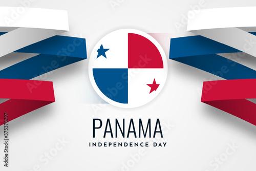 Fototapeta Happy independence day panama obraz