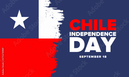Chile Independence Day Fotobehang