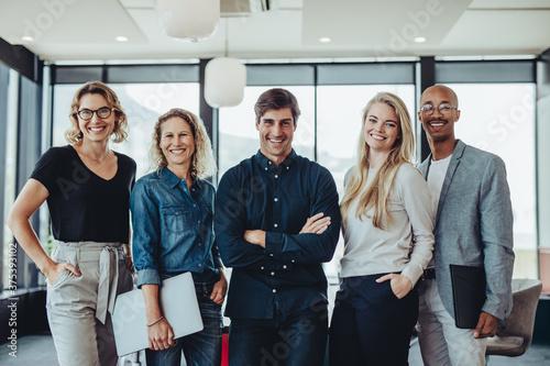 Fotomural Successful business team