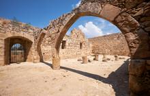 The Old Arches Of Kolossi Cast...