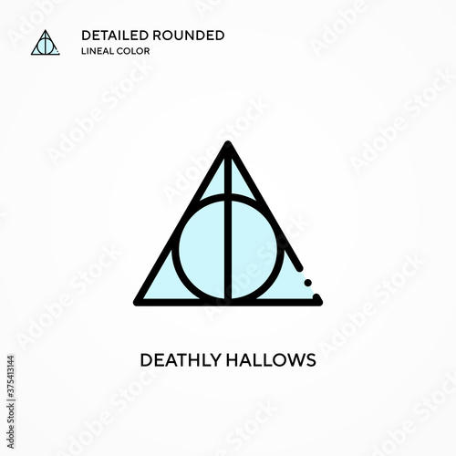 Fotografering Deathly hallows vector icon
