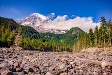 Mount Rainier And White River ...