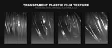 Transparent Plastic Film Textu...