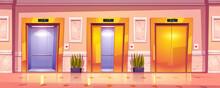 Luxury Hallway Interior With G...