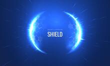 Bubble Shield Futurictic Vecto...