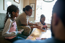 Army Soldier Mother Playing Ca...