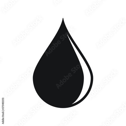 Foto Drop shape icon
