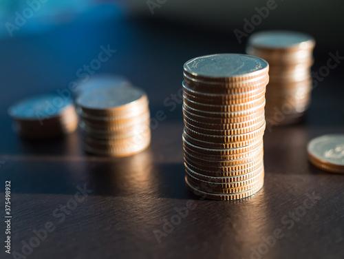 Fotografia Future plan saving money for 2021 year concept