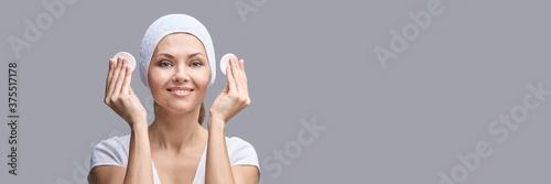 Fotografija Cosmetology face cleaning