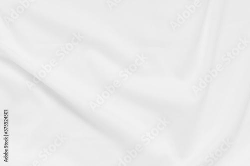 Obraz na plátně White fabric background