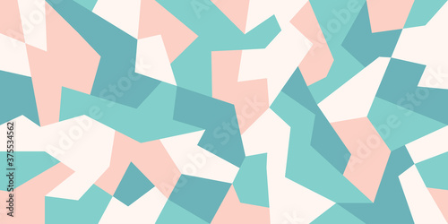 Abstract camouflage background in pastel colors Canvas-taulu