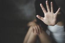 Women  Bondage Lift Hands Agai...