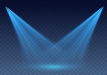 Blue Scanner Or Laser Effect. ...