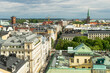 View over roofs of Helsinki, the capital of Finland