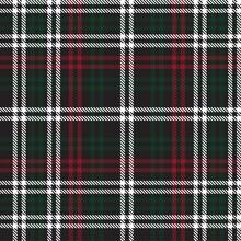 Christmas Glen Plaid Textured Seamless Pattern