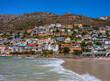 canvas print picture - cape town beach