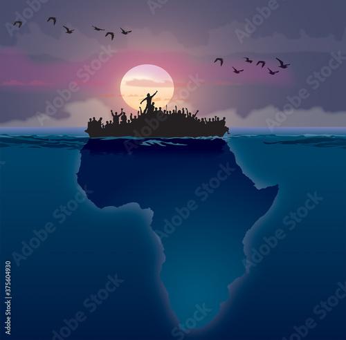 Afrique - Émigration A