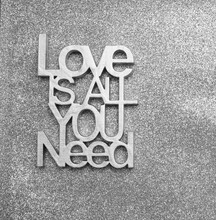 Love Is All You Need -  Wooden...