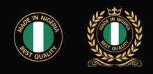 Made In Nigeria  Vector Stamp....