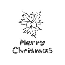 """Holly And Lettering - """"Merry C..."""