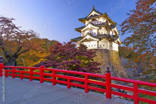 Hirosaki Castle in Hirosaki, Japan