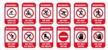 No Skiing Forbidden Sign. Do Not Ski, Cross-country, Sledding,  Snowboarding Or Ice Kate. Forbid Do Not Enter, Stop Halt Allowed, No Ban. Flat Vector Snow Winter Signboard.  Danger, Slope,  Ice Kating