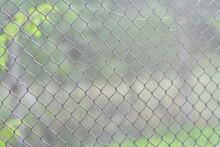Metal Grid. Wire Fencing. Flex...