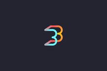 Technology Letter B Logo Abstr...
