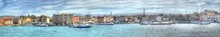 A Panorama View Of The Entranc...