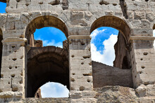 Windows Of The Colosseum In Ro...