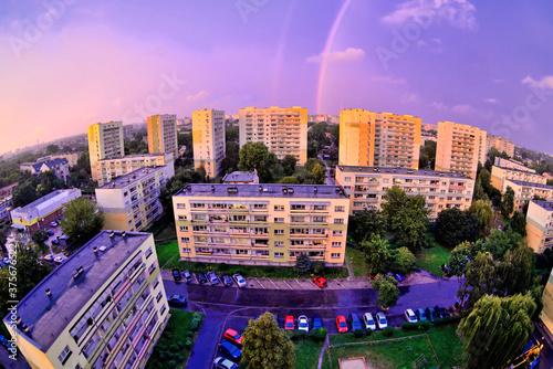 Osiedle- miasto Łódź, Polska