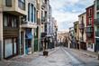 Balborraz street in Zamora, Castilla y Leon, Spain, Via de la Plata