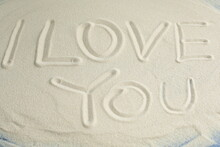 Words And Symbols In The Sand