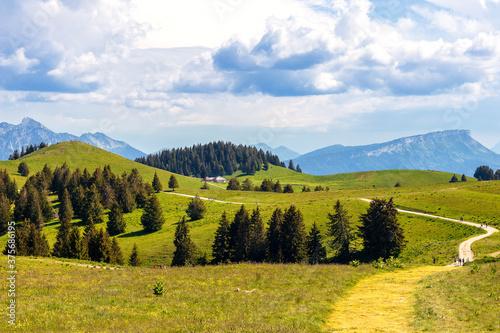 Plateau du Semnoz Fotobehang