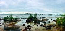 St. Marys River Scenery In A F...