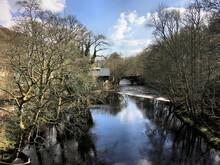 A View Of Hebden Bridge In Yorkshire