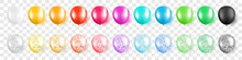 Colorful Party Balloons With C...