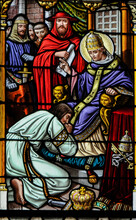 Saint Gregory The Great Stain Glass