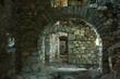 Inside medieval fortres