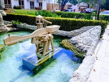 Fountain Water Seesaw