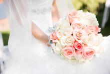 Closeup Of Bride's Bouquest