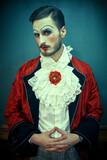 man in costume of aristocrat