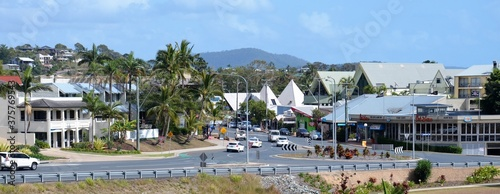 street view of airlie beach town australia Wallpaper Mural